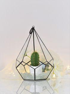 Terrarium Czarna Łza - GlassWoodMe - Dekoracje ślubne