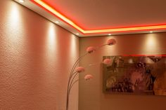 BENDU – Moderne Stuckleisten bzw. Lichtprofile für indirekte Beleuchtung von Wand und Decke aus Hartschaum WDML-200A-PR. Kombinierbar mit LED Band bzw. Lichtschlauch und / oder Spots bzw. Downlights.: Amazon.de: Baumarkt