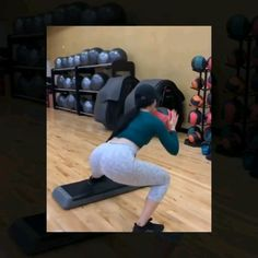 have time to go to the gym? No problem! You can do this workout at home and it'll leave you sore for days! (Video is speed up. have time to go to the gym? No problem! You can do this workout at home and it'll leave you sore for days! (Video is sp. Step Workout, Butt Workout, Workout Challenge, Gym Workouts, At Home Workouts, At Home Workout Plan, Gym Time, Glutes, Workout Videos