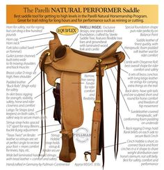 Selle Parelli  www.parelli.com