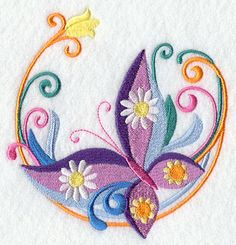 Machine Embroidery Designs At Embroidery Library  Color