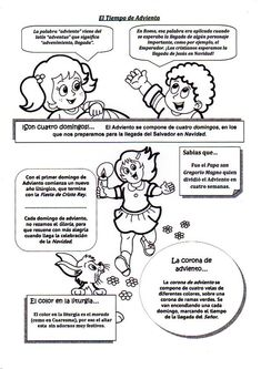 Coloreamos a María y a José en Adviento:     Fuente: elrincondelasmelli   Cómic Adviento Ciclo A:                  Fuente: http://dibu...