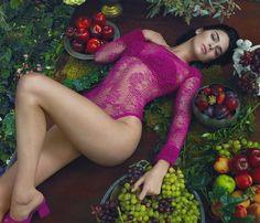 "623 Likes, 3 Comments - @kardashianuniverse_ on Instagram: ""Kendall for La Perla FW17. """