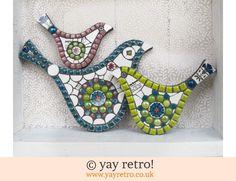 Large Queensberry Mosaic Bird (£26.00)