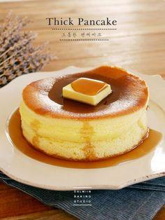 [동영상] 일본열풍! 도톰한 핫코 버터 팬케이크 만들기 ː (노오븐) : 네이버 블로그