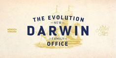 Darwin Office (30% discount, from 9,09€)   https://fontsdiscounts.com/darwin-office-20-discount-family-2479e?utm_content=buffer2c073&utm_medium=social&utm_source=pinterest.com&utm_campaign=buffer