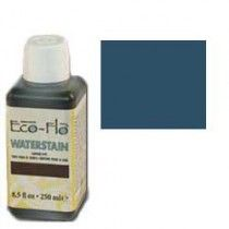 Leerverf Eco-Flo Edgeflex Waterstain Blauw, 250 ml