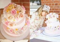 Styling Elegance Cake  Gorgeous Cake for a Tea Party