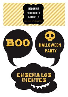 El blog de Laücreativa: IMPRIMIBLE: PHOTOBOOTH HALLOWEEN II