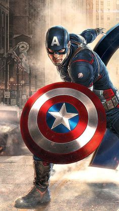 Captain America in Avengers Movie wallpapers Wallpapers) – HD Wallpapers