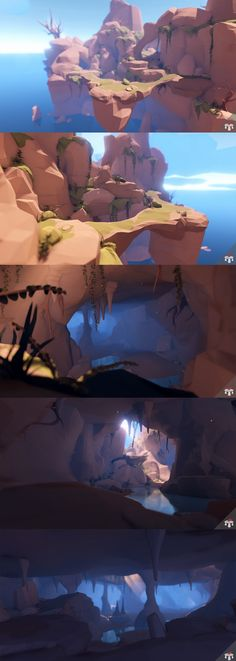 A robust pack of stylized low poly assets perfect for creating Caverns. Features: - Over 193 assets in total - NEW!! 25 Crystal assets - NEW!! 2 Crystal Demo Scenes - 68 Modular Floors - 34 Modular Walls - 37 Foliage assets - 29 Rocks/Cliffs - All assets made from 1 texture - Large demo scene included