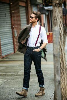 Fashionably Fly: Menswear Mondays