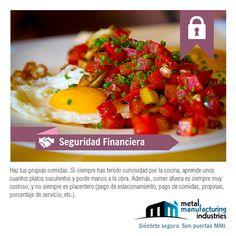 Comer fuera de casa es siempre muy costoso y no siempre es sano o placentero. Haz tus propias comidas y comparte este tip de #SeguridadFinanciera.