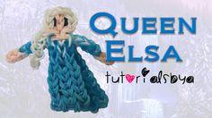 {Disney Princess Series} Queen Elsa Figurine/Action Figure Rainbow Loom ...