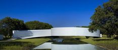 the Japanese Immigration Memorial in Belo Horizonte, Minas Gerais, Brazil by Brazillian architecture firm Gustavo Penna and Associates