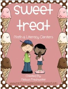 I Scream, You Scream, We All Scream for ICE CREAM! Nothing says summer like frozen treats. This entire 137 page unit is filled with 20 different ma. Math 2, Math Literacy, Literacy Activities, Literacy Centers, Preschool Family, Preschool Themes, Classroom Themes, Summer School, School Fun