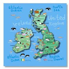 map of uk  Google Search  Unit Study  UK  Pinterest  Unit