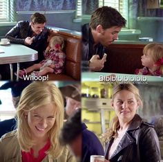 "Season 6 Episode 3 she's staring at him like ""he's a gr8 dad"""
