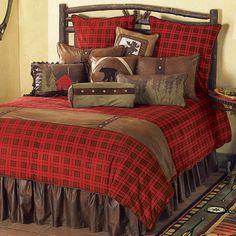 Gunnison Plaid Bed Set - Queen