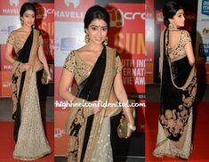 Shriya Saran SIIMA Awards 2014 in Sabyasachi