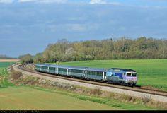 CC 72177 SNCF CC 72100 at Maison-Rouge, France by Jean-Marc Frybourg