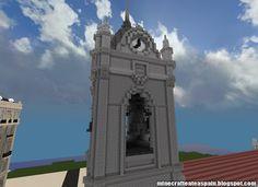 ¡MINECRAFTEATE!: Réplica Minecraft de la Parroquia Ntra. Sra. de la Asunción, Legazpi, Pais Vasco, España.