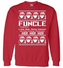 a323c81a Funcle Like Dad Only Cooler Ugly Christmas Sweater Shop Funcle Like Dad  Only Cooler Ugly Christmas Sweater custom made just for you.