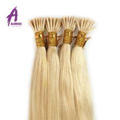 I Tip Brazilian Hair Extensions Stick Tip Human Hair 0.5g/Strand Fusion Brazilian Virgin Hair Pre bonded Straight Aliexpress UK