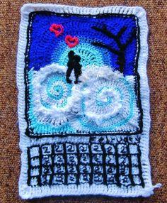 "Dada Neon Crochet: YOUR Personal Freeform CAL - ""Week"" 26"
