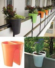macetas para balcon Balcony Planters, Planter Pots, Balcony Gardening, Plant Wall, Humble Abode, Outdoor, Porch, Home Decor, Content