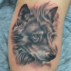 Cool Wolf Designs Wolf Head Tattoo Designs