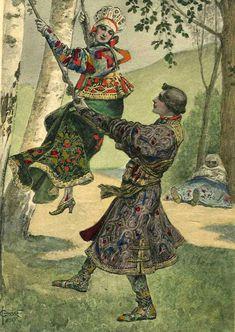 Сценки из боярской жизни