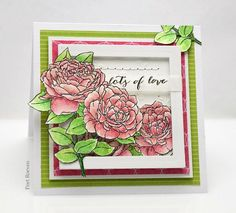 Penny Black Supplies Stamps: 30-340 Gentle Day! , 30-358 H appy S nippets (sentiment) Paper: golden moment L  &  Ros...