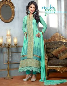Georgette | Semistiched | Salwari Suit