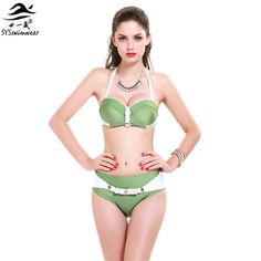 $24.68 (Buy here: https://alitems.com/g/1e8d114494ebda23ff8b16525dc3e8/?i=5&ulp=https%3A%2F%2Fwww.aliexpress.com%2Fitem%2F2015-New-Girls-Chic-Bikini-Woman-Strapless-Nylon-Sexy-Beach-Bikini-Hot-Spring-Swimwear-Pin-Up%2F32250635829.html ) 2016 New Girls  Ch