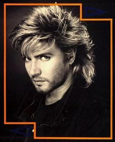 Simon Le Bon- don't like the long hair on him- too much 80's George Michaels happening here...
