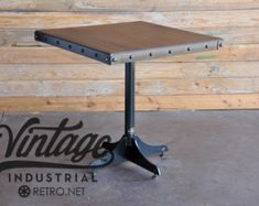 Bistro Cafe mesa Base Heavy Duty Industrial por ModernIronworks