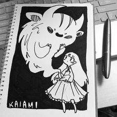 """@kaiami's photo: """"Sharpie doodle""""  #black #kaiami"""