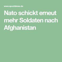Nato schickt erneut mehr Soldaten nach Afghanistan