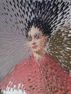 Exploded Frida Kahlo #2 - Lola Dupre