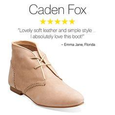 Clarks Customer Favorites | Caden Fox | Clarks womens boots