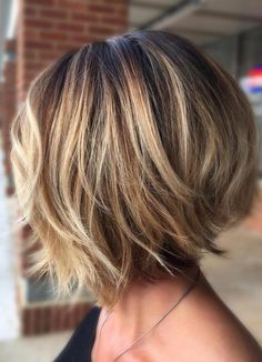 Trending Stacked Short Bob Haircuts for Women in 2019 layered bob hairstyles are fabulous.layered bob hairstyles are fabulous. Best Bob Haircuts, Bob Haircuts For Women, Layered Bob Hairstyles, Hairstyles Haircuts, Bob Hairstyles For Thick Hair, Bob Hair Cuts, Inverted Bob Haircuts, Bob Cuts, Trending Hairstyles