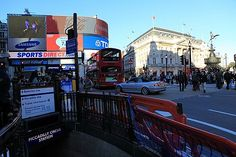 """Piccadilly Circus, I remember it :-)"" by TravelPod blogger sebasnow from the entry ""Last shoping in Londyn (ostatnie zakupy w Londynie"" on Sunday, October 10, 2010 in London"