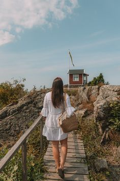 10 Best Islands To Visit in the Gothenburg Archipelago • I, Wanderlista Gothenburg Archipelago, Famous Lighthouses, Over The Bridge, Sweden Travel, Big Island, Beautiful Islands, Travel Inspiration, Beach, Places