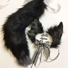 Wolf Ears And Tail, Kitten Play Gear, Neko Ears, Dreads Girl, Kittens Playing, Cat Costumes, Ear Headbands, Kawaii Clothes, Cosplay Outfits