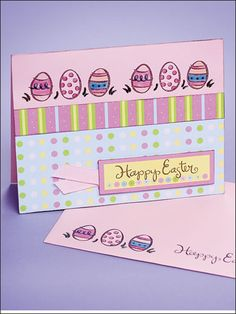Card Making - Easter Card
