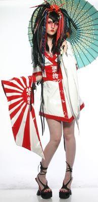 """Looks that Kill: """"Couture Tokyo Rose"""" Kimono (XS-S?)"""