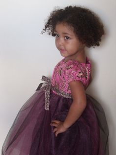 Mini fashionista! Afrocentric Girl's Dress by inperfectseason on Etsy, $65.00