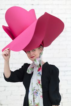 I Need To Make This For The Kentucky Derby Party May Paper Rose Hat From Award Winning Design As Seen On Today Show