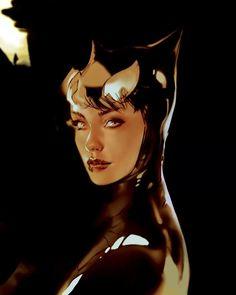 "thewayilikecomix: "" Ben Oliver's Catwoman * """